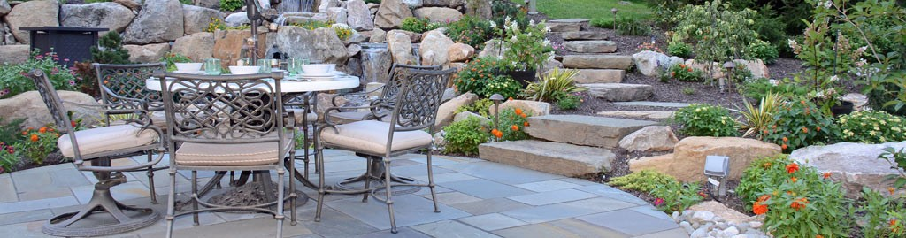 whether you envision a new patio walkway outdoor kitchen fireplace fire pit or deck the turpin landscaping hardscaping and masonry experts stand ready - Hardscaping