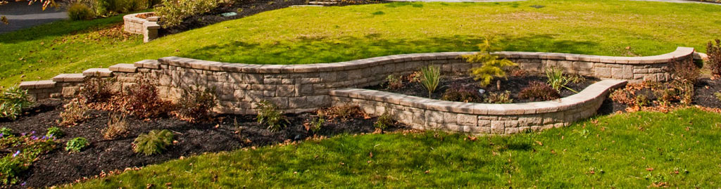 Retaining wall by Turpin Landscaping