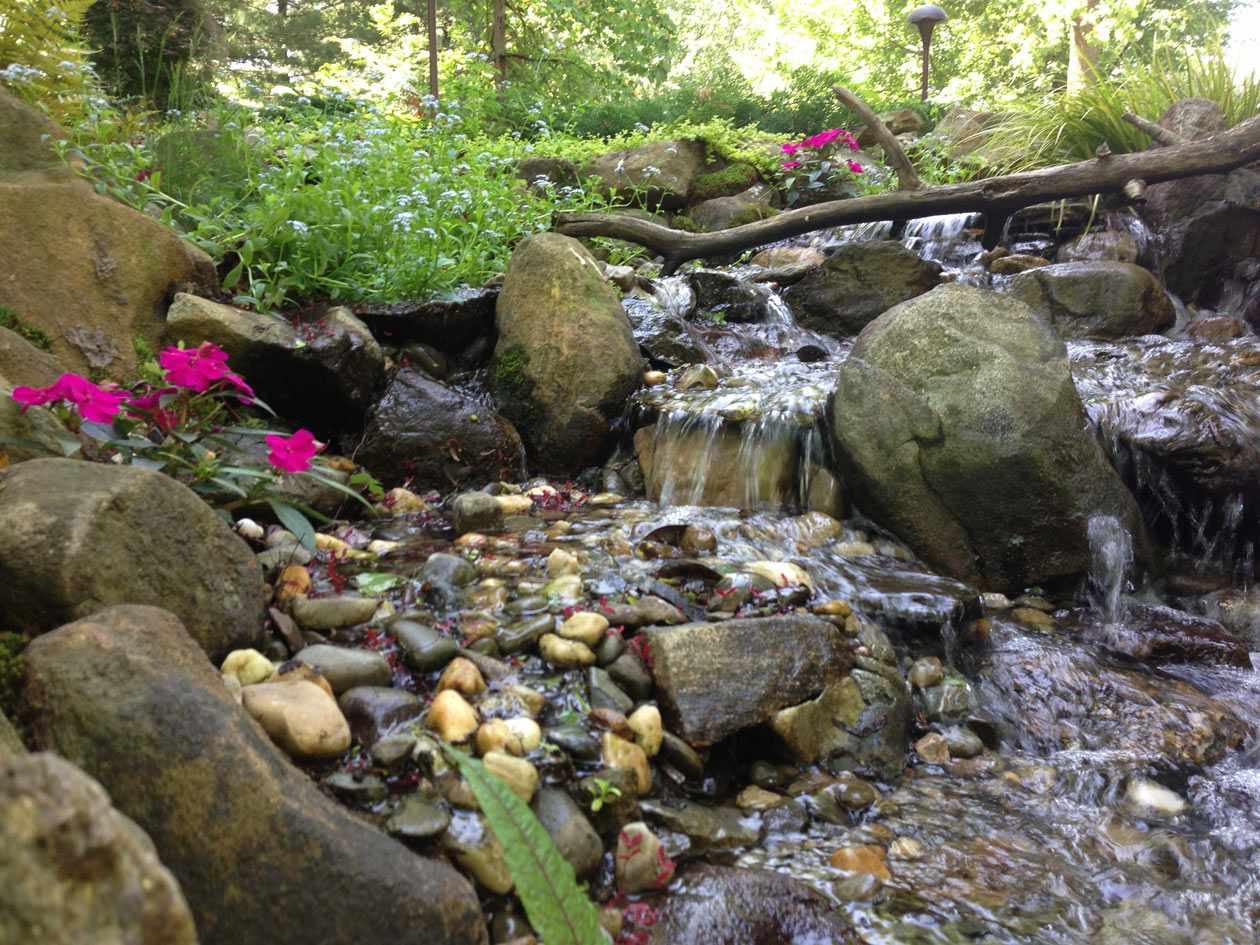 Pondless waterfalls turpin landscaping for Pondless waterfall