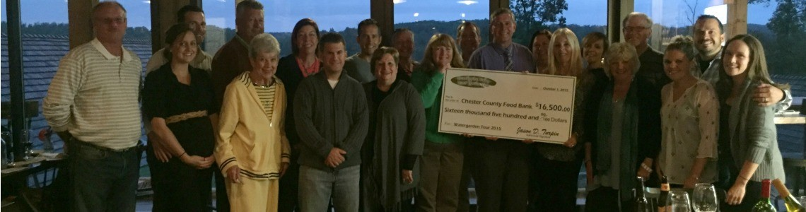 Brandywine Valley Water Garden Tour Raises $16,500 for Chester County Food Bank