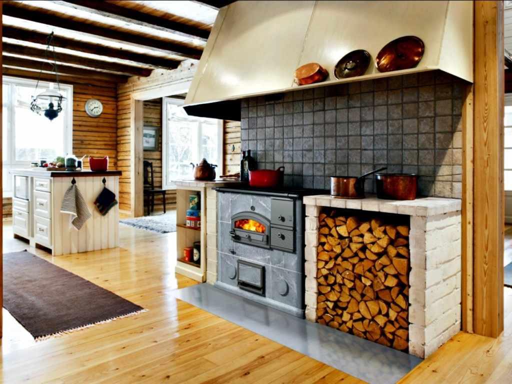Masonry Heater Cooking