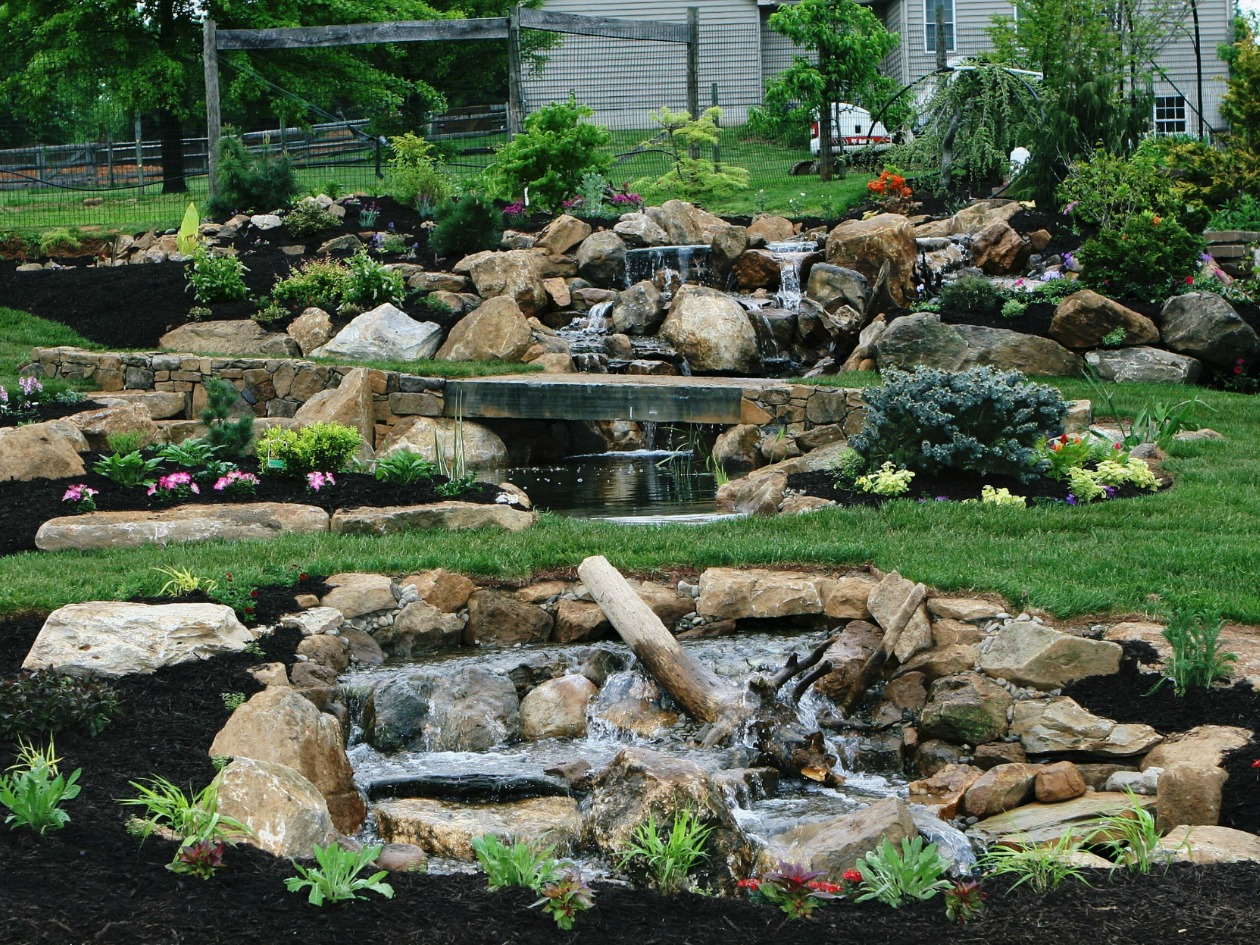 Pond supplies for sale in chester county pa turpin for Outdoor fish ponds for sale