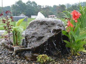 low maintenance fountains