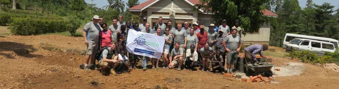 Harvesting Rainwater in Uganda, Africa