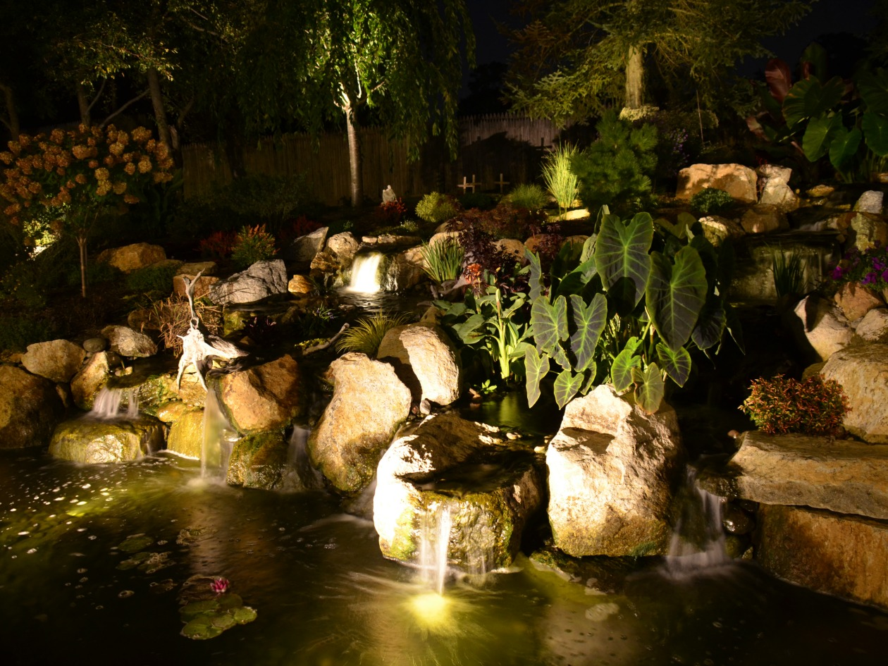 ... Landscape Lighting Maintenance ... & Landscape Lighting Pictures - Turpin Landscaping azcodes.com